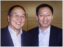 馬化騰與楊文斌